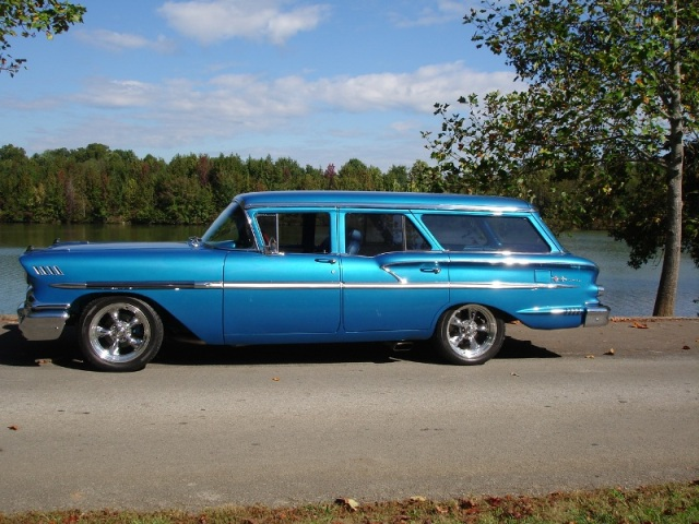 MidSouthern Restorations: 1958 Chevy Nomad