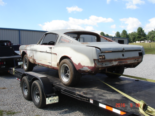 MidSouthern Restorations: 1966 Mustang Fastback